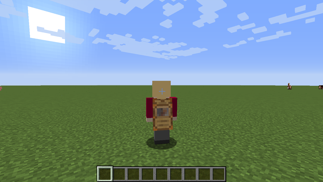 how to put on a cape in minecraft